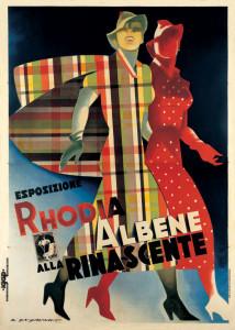 Mostre NOVECENTO 383_Dudovich_Esposizione-Rhodia-e-Albene-alla-Rinascente