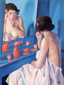 Mostre NOVECENTO donna-allo-specchio