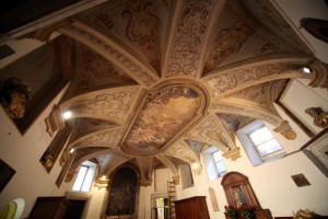 Basilica di Santa Maria in Montesanto totale affreschi
