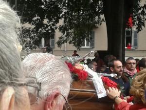 Funerali Franca Rame 6
