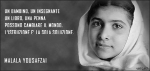 07 OlO Altri di Noi Riflessione islamica Malala adolescente all'Onu per il diritto allo studio