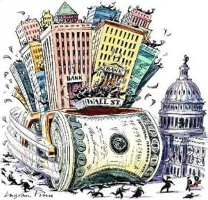02 OlO Il gioco delle tre Carte 23 gennaio Banche riforma Wall Street con la Volcker Rule obama-wall-street-134034