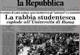 01 Italia Articolo per Moto della Mente senza note Movimento del '77 images
