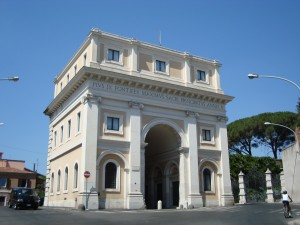 01 Roma da Conoscere Sulle tracce di una Repubblica dimenticata Porta san Pancrazio Porta_San_Pancrazio_Rome