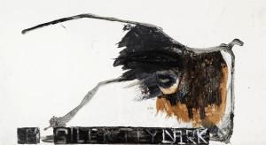 06 Mostre Fondazione Mudima Simona Caramelli 'Silently Dark', 2013, acrilico su carta, 60x110 cm