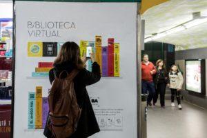 Argentina Buenos Aires letture sotto terra permite_descargar_mas_de_200_libros