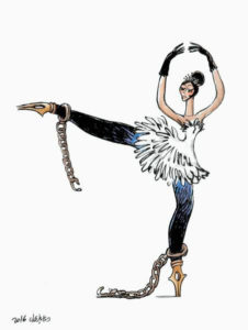 GL Egitto Una Primavera non finita Ballerina