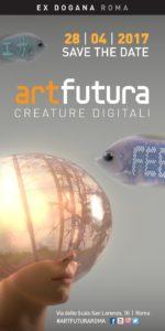 Mostre ArtFutura Roma Ex Dogana 2017 logo